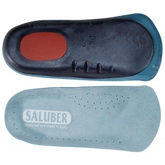 H482-27: Alcantara® anatomical 3/4 length orthotics with Poron® heel, with Arch Support (Pair)