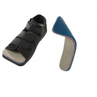 "FORS-15™ Offloading Insole WITH ""Open-Toe"" Post Op Shoe"